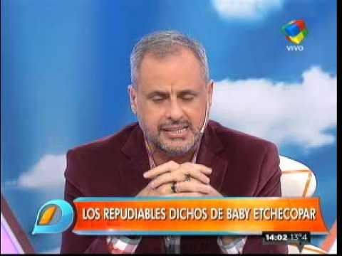 "Jorge Rial: ""Baby, te fuiste al pasto"