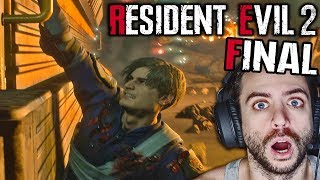 ¡¡EL GRAN FINAL DE RESIDENT EVIL 2 REMAKE!!