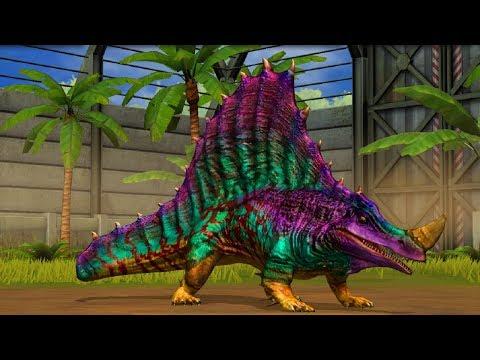 Jurassic World Game Mobile #58: Đột biến khủng long PRIOTRODON mạnh hơn cả indominusrex
