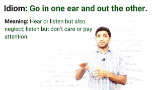 Idioms. Bend an ear, lend an ear, bend someone's ear, ....Meaning with Example sentences.
