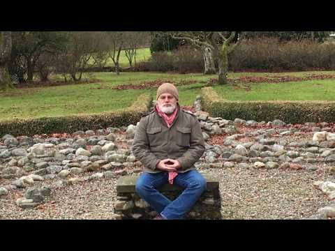 Visit to a labyrinth in Angus, Scotland