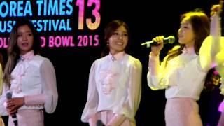 Video (fancam) APINK @ Korea Times Music Festival 2015 download MP3, 3GP, MP4, WEBM, AVI, FLV Desember 2017