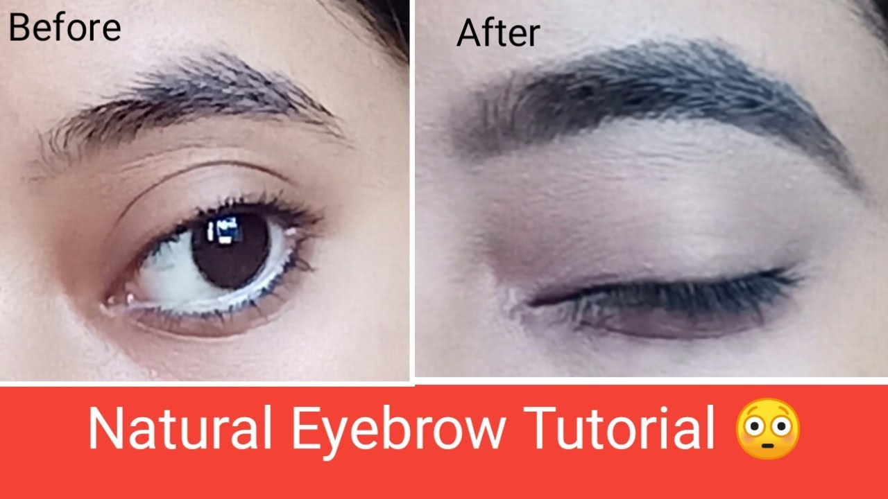 Eyebrow Tutorial  How to :Groom eyebrow step by step for ...