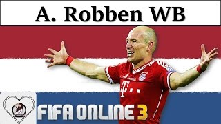 I Love FO3 | Arjen Robben WB Review Fifa Online 3 New Engine 2016: Robbben của Mùa World Best
