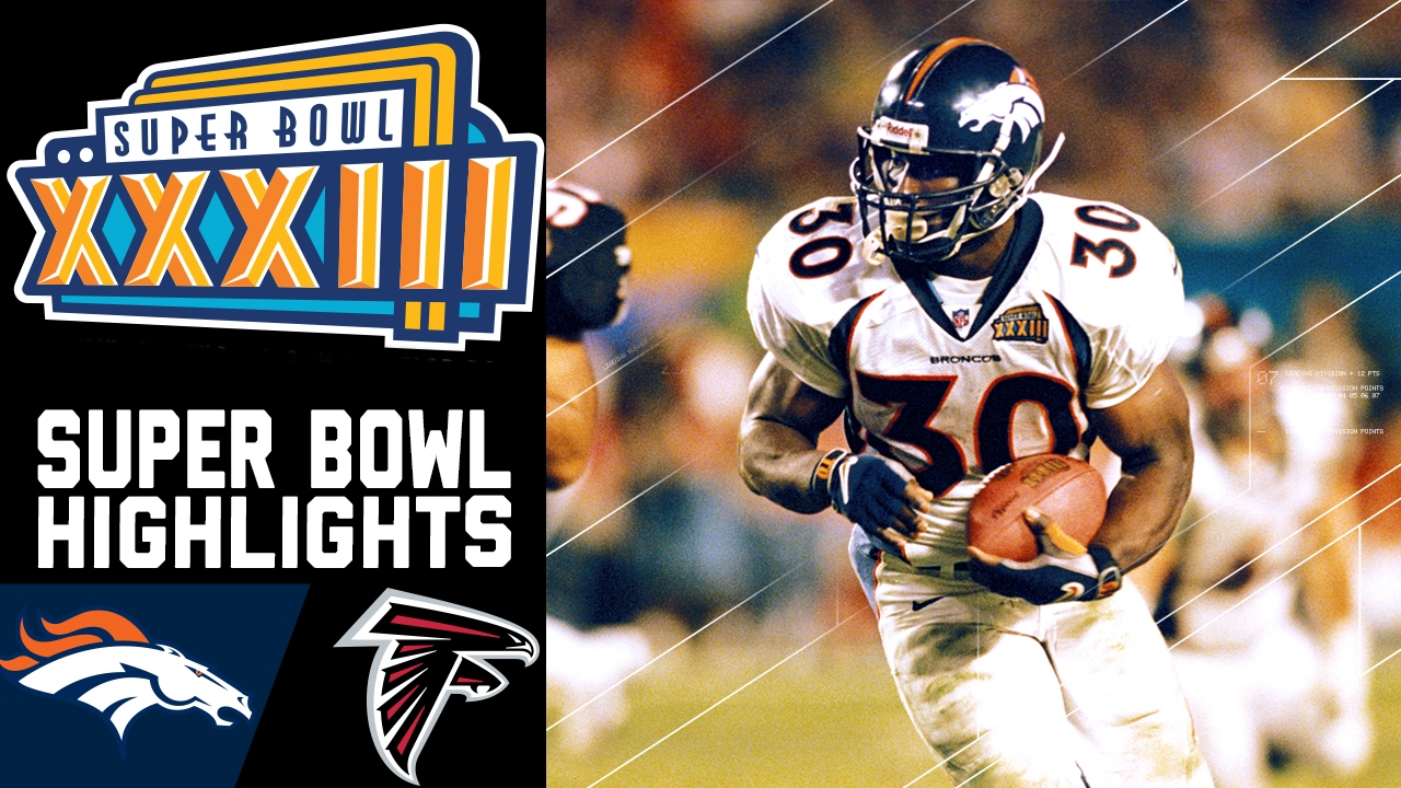 NFL GREATEST PLAYS SUPER BOWL XXXIII ATLANTA VS DENVER PUBLICITY PHOTO
