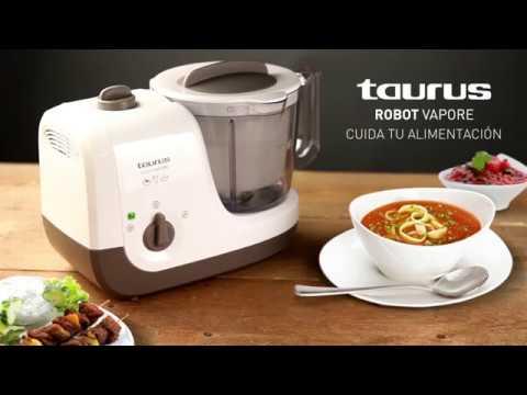 Robot De Cocina Taurus Al Vapor Robot
