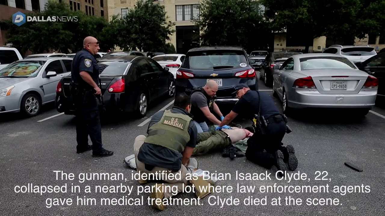 What we know about Brian Clyde, the gunman who opened fire at the federal courthouse in Dallas