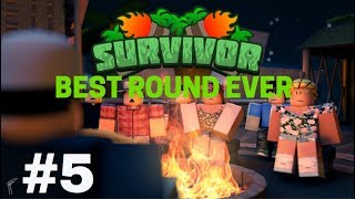 ROBLOX Survivor #5: GREATEST SURVIVOR ROUND EVER! (Ft.Storm)