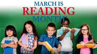 Sen. McBroom celebrates National Reading Month |
