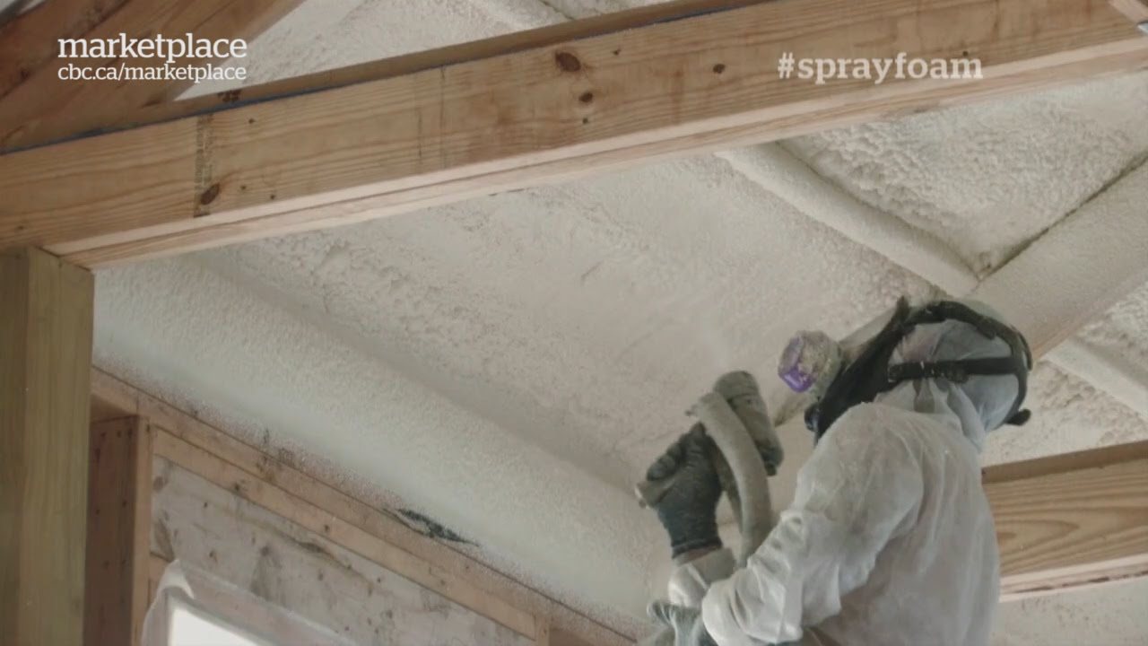 Spray foam insulation nightmare what can happen if its not spray foam insulation nightmare what can happen if its not installed correctly cbc marketplace youtube solutioingenieria Gallery