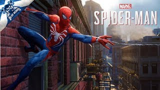 🔴 SPIDER-MAN LIVE STREAM #1 - Call Me Peter Parkour! 🔫 Web Slinging & Crime Fighting! (PS4 PRO)