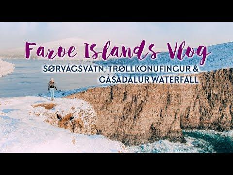 FAROE ISLANDS VLOG 1: Sørvágsvatn, Gásadalur & Trøllkonufingur
