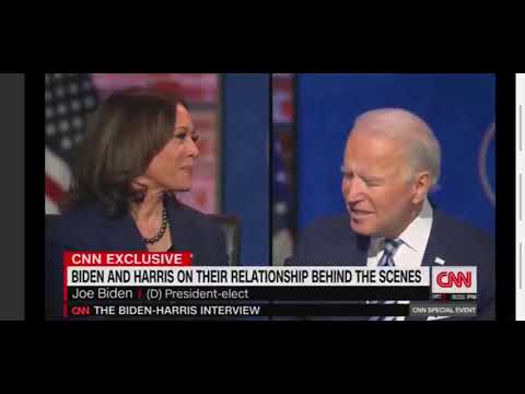 'CNN Exclusive Interview' Biden and Harris - Joe Biden's view on disagreements