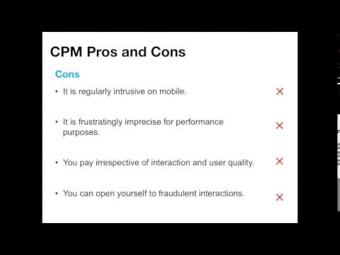 Tutorial: What is Cost Per Mille? (CPM) - YouTube
