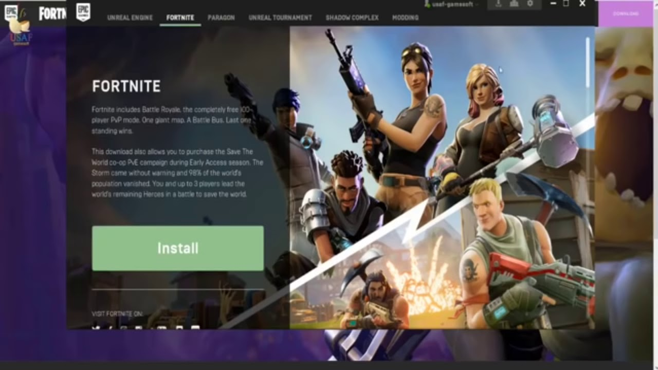 how to make fortnite download faster pc