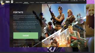 طريقة تحميل لعبة fortnite للكمبيوتر او pc مجانا من الموقع الرسمي للعبة (مجانا)