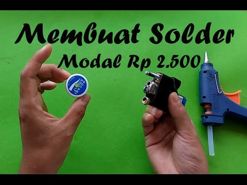 Membuat Solder Mini Portable  Murah Meriah Modal Hanya Rp 2.500