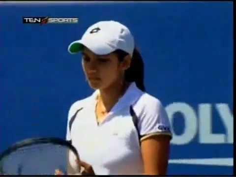 Golden Moments - Sania vs Bartoli- US Open 2005.mp4