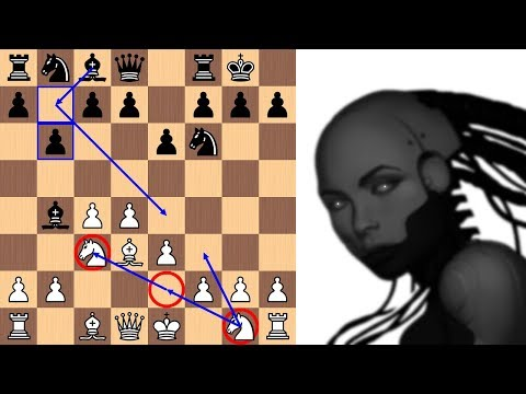 Artificial Intelligence Leela Chess Zero finds a new 7th move in the Nimzo-Indian