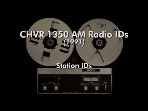 CHVR 1350 AM Radio IDs (1991)