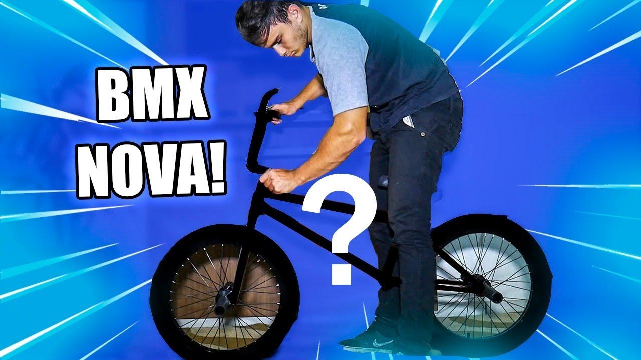 MINHA NOVA BMX!! - YouTube