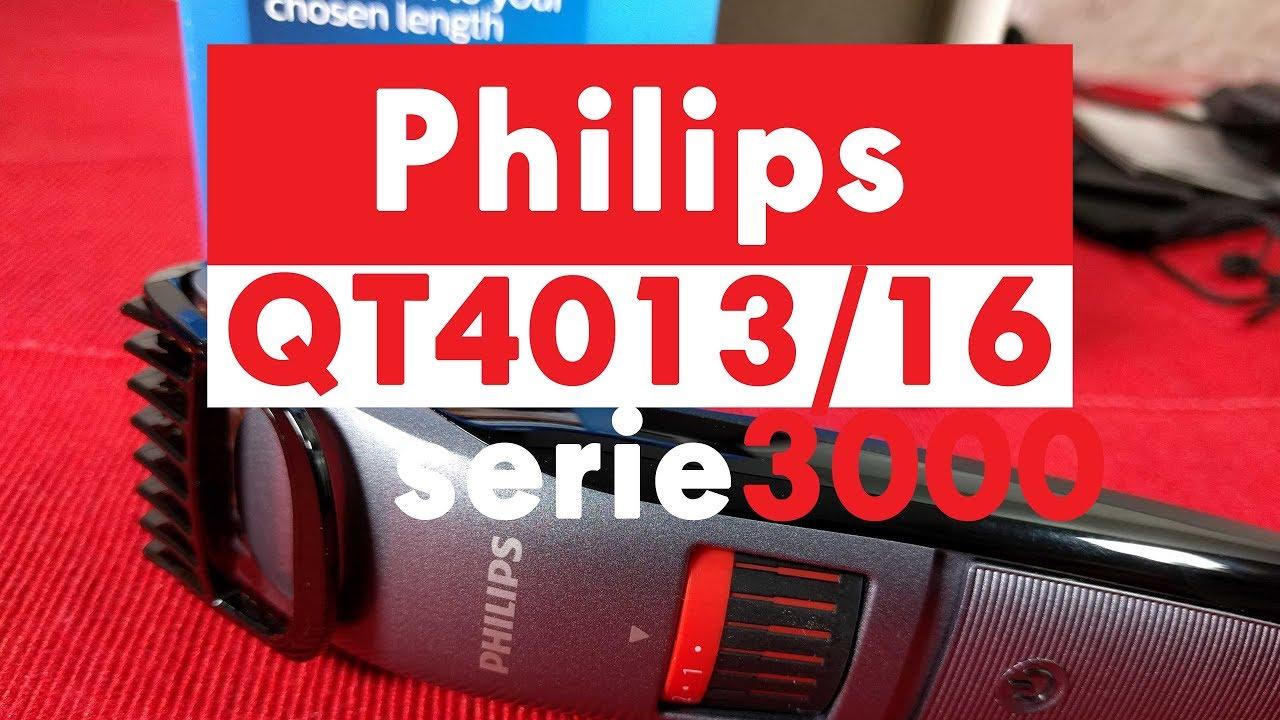 Philips QT4015   16 Series 3000 Regola barba lame in titanio - YouTube 868483328c1