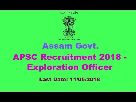 Exploration Officer [Directorate Of Archaeology, Assam]