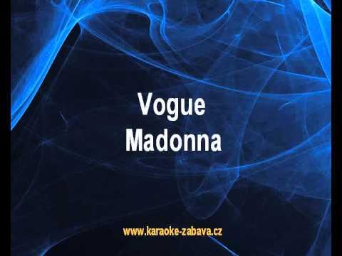 Madonna - Vogue (karaoke KLIP)