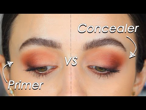 DOES EYESHADOW PRIMER *Really* MAKE A DIFFERENCE?!? - Wear Test + Comparison
