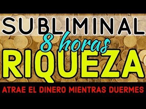 ATRAE LA RIQUEZA MIENTRAS DUERMES 🌙 PODEROSO AUDIO SUBLIMINAL DE 8HORAS | LLUVIA ASMR