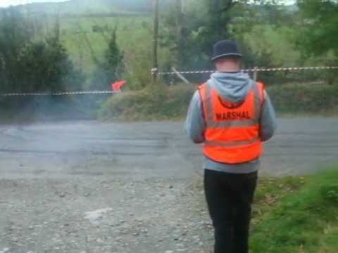 Crazy car control in Irish Rally