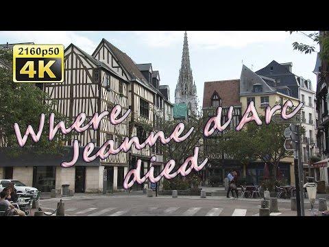 Rouen, A Walk Through The Historic Center - France 4K Travel Channel
