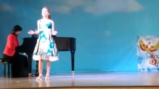 Ремизова Милана,10 лет на Всероссийском конкурсе