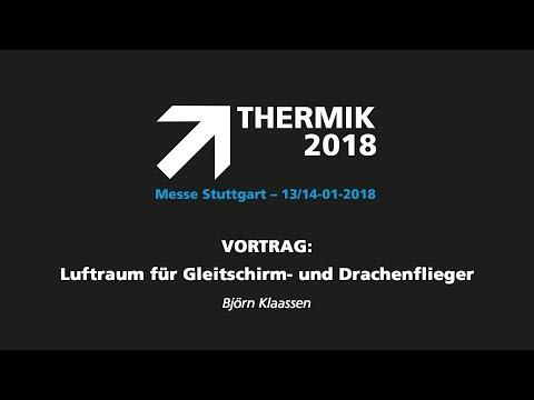 THERMIK 2018 - Björn Klaassen - Luftraum für Gleitschirm- und Drachenflieger