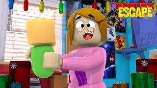 Roblox Escape The Babysitter Obby With Molly!