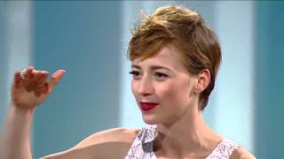 Karine Vanasse on George Stroumboulopoulos Tonight: INTERVIEW