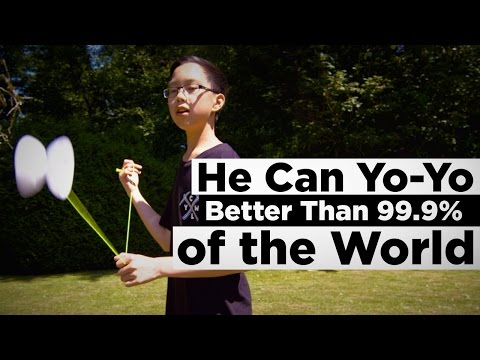 He Can Yo-Yo Better Than 99.9% of the World