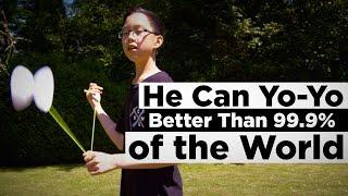 He Can Yo-Yo Better Than 99.9% of the World