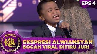 NGAKAK! Ekpresi Alwiansyah Bocah Viral ditiru oleh Para Juri - Kontes KDI 2020 (24/8)
