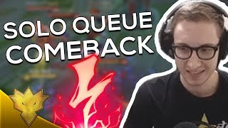 TSM Bjergsen & MikeYeung - EASY SOLO QUEUE COMEBACK - League of Legends Stream Highlights