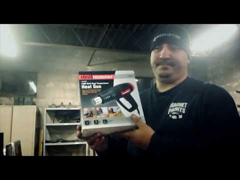 Harbor Freight Heat Gun - Drill Master