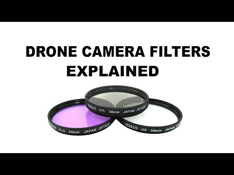 CAMERA FILTERS FOR YOUR DRONE - WATCH THIS BEFORE BUYING