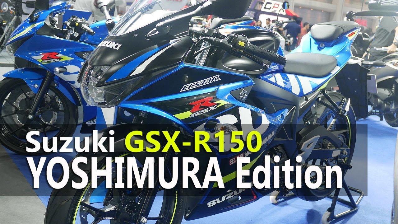 Vlog Intip Detail Suzuki Gsx R150 Yoshimura Edition