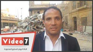 أيمن طه بعد إزالة مول أبو العلا :