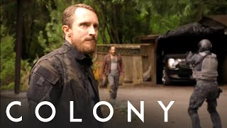 Season 3, Episode 1: Snyder's True Mission Is Revealed | Colony on USA Network