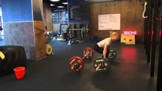 CrossFit Offline Russia - Ukraine - Oksana Slivenko WOD1.MPG