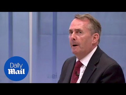 Trade Secretary Liam Fox mocks chlorinated chicken concerns - Daily Mail