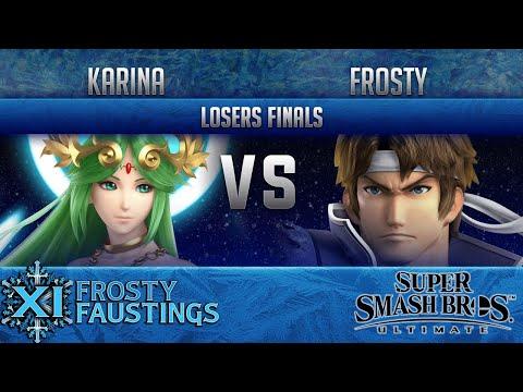FFXI - Smash Ultimate Singles Losers Finals - Xit Karina (Palutena) vs  Frosty (Richter)