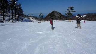2010/2/7 大山 豪円山スキー場
