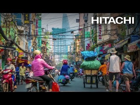 Congestions in Ho Chi Minh City - Hitachi